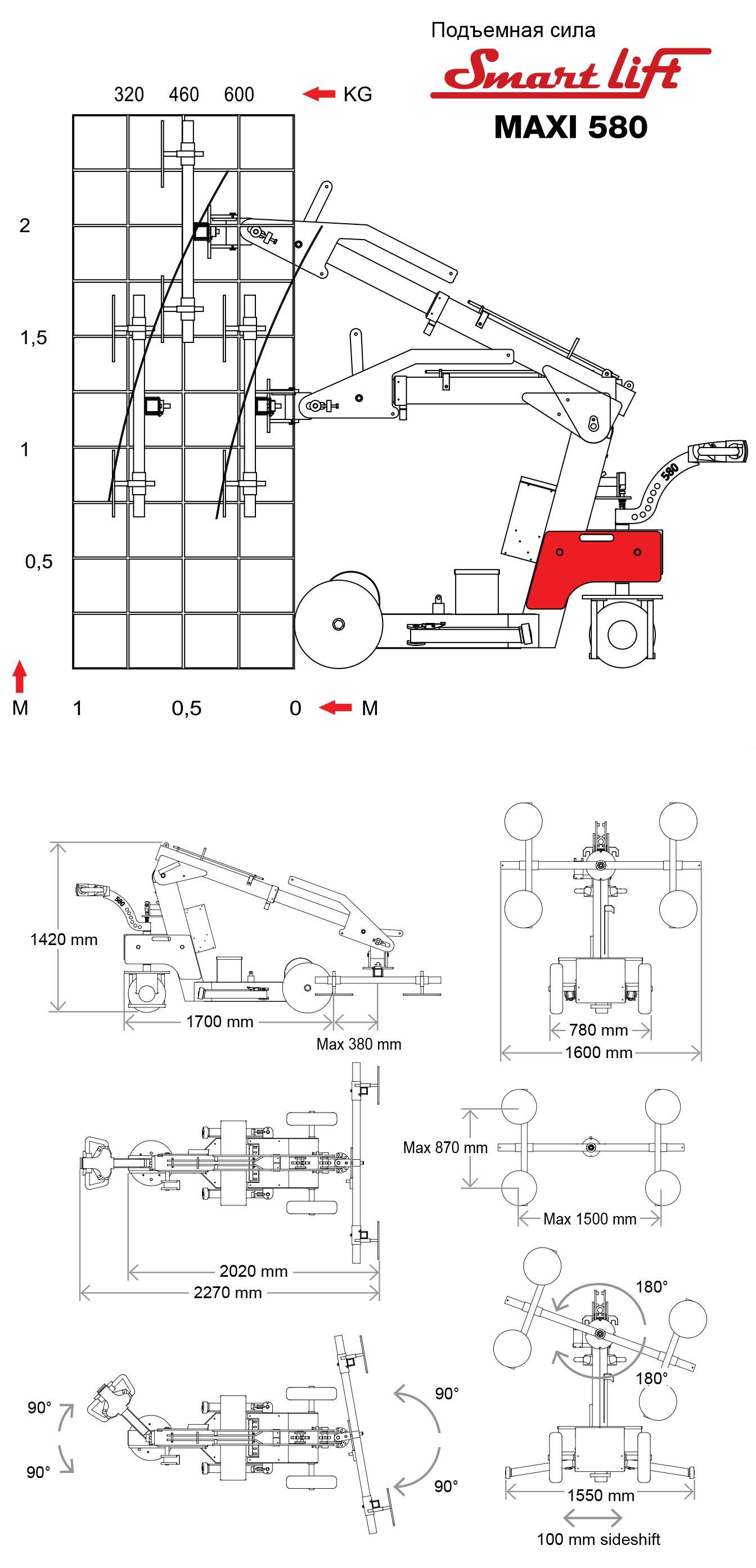 SL 580 Maxi
